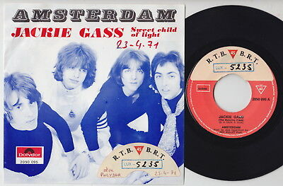 AMSTERDAM * Jackie Gass * 1971 Dutch GLAM ROCK 45 * Listen To It!