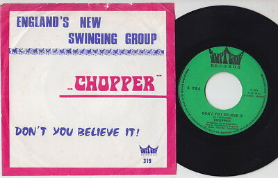 CHOPPER * 7T's UK GLAM * Belgian 45 * Listen!