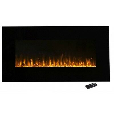 36 Inch Multi Color Fireplace with Touch Screen and Remote control FH-36-CLR-3