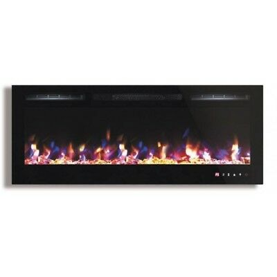 45 Inch Multi Color Fireplace with Touch Screen and Remote control FH-45-CLR-3