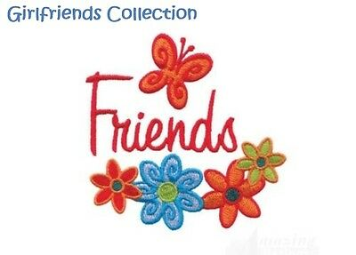 Girlfriends Collection - Machine Embroidery Designs On Cd