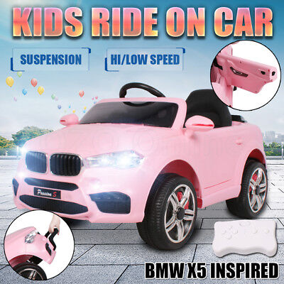 Electric Kids Ride On Car BMW Inspired Children Toy Battery Remote Suspension AU