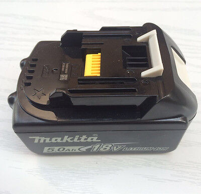 Makita BL1850B Rechargeable LXT Lithium-Ion Battery 18V 5.0Ah with Indicator NEW