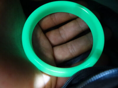 100% natural luminous stone bracelet 56-62mm (absorb sunlight can be bright)