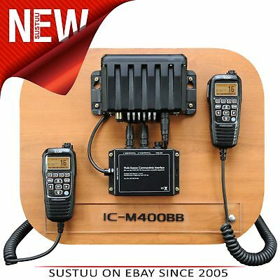 Icom IC-M400BB VHF DSC OEM DualStation Package│IM400BB-HM195CMI-2xHM195│In Boats
