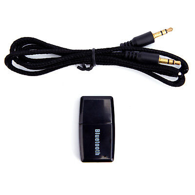 USB Bluetooth V4.1 Stereo Audio Empfänger Receiver Musik Dongle Aux Box Adapter