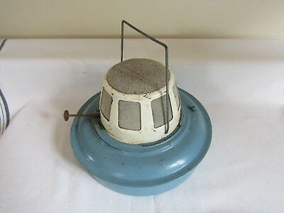 Vintage Mosquito Insect Repellant Machine - Burner With Wick & Handle