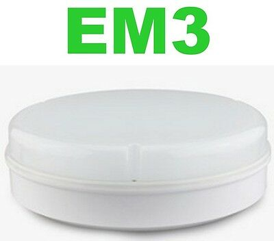 Maintained Emergency 15W = 28W LED 2D Bulkhead Wall Ceiling Light Fitting IP65