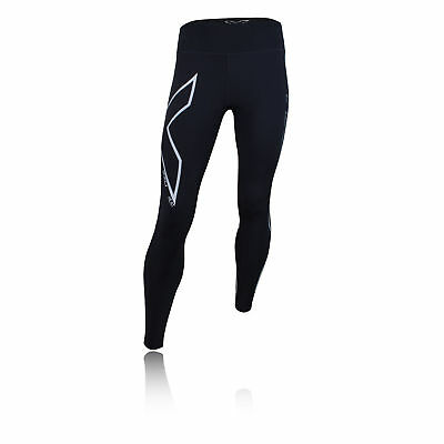 2Xu Womens Mid-Rise Compression Running Tights Bottoms Pants Black