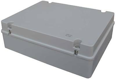 ESR Weatherproof IP56 PVC Adaptable Junction Box 380x300x120 Enclosure Hinge Lid