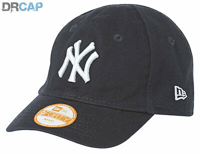 New Era 9Forty NY Yankees Navy My First INFANT Stretch Fit Baseball Cap 46-50cm
