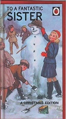 Lady Bird Books for Grown Ups Sister Christmas Card NEW