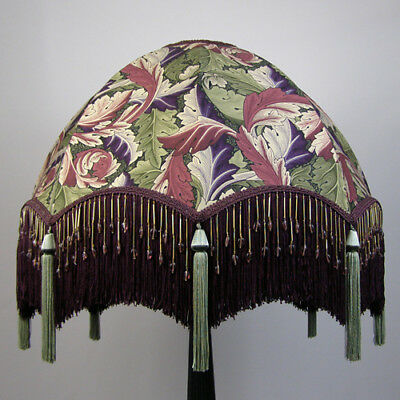 Victorian Vintage Beaded Standard Lampshade **REDUCED FROM £283.00 TO £263.00**