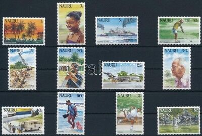 Nauru stamp Definitive: Subject pictures set 1984 MNH Mi 287-298 WS244677