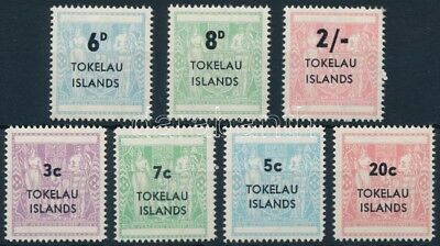 Tokelau stamp  1966-1967 2 set 1966 MNH Mi 1-7 WS244657