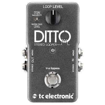 TC Electronic Ditto Stereo Looper Guitar Pedal