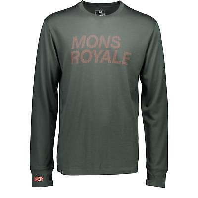 Mons Royale Original LS Itallica - Forest Green