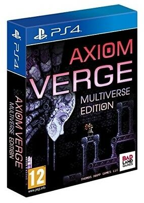 Axiom Verge: Multiverse Edition (pal Import)  - PlayStation 4 game - BRAND NEW