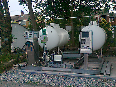 Autogas Retail Unit - Self Contained, Unattended Autogas Dispenser, Credit Cards