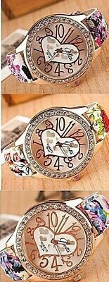 Women lady Oversize 40mm+ with Big numbers Large Face Analog Quartz Wrist Watch