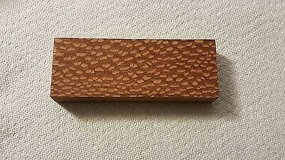 **STABILIZED** Leopard wood knife scales