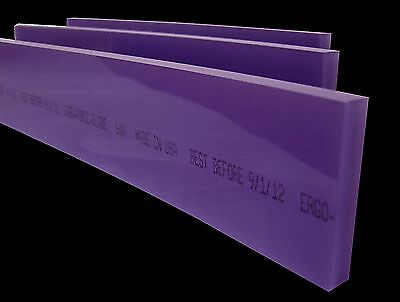 "16"" Ergo-Force 64A Squeegee Blade, Silk Screen Squeegee,Screen Printing Squeegee"