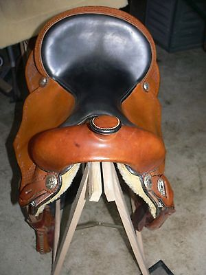 Westernsattel Sattel Wildhorn The Alamo # 3480 Made in USA (kein Remake) + Pad