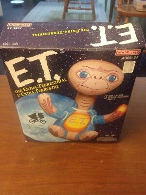Coleco E.T. The Extra-Terrestrial 3' High Life Size Blow Up Toy (1982)