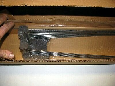 Nos Grandfather Clock Chime Rods Fits Urgos Uw03015-4 Emperor 301M Tripple Chime