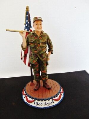 Duncan Royale,small Figurine Of Bob Hope, Classic Entertainers Series, 1988, Fir