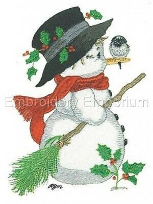 Snowmen Collection - Machine Embroidery Designs On Cd