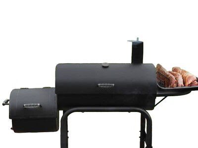 BBQ Grill Smoker Plans DIY Portable Camping Barbecue Cooker Outdoor Cooking