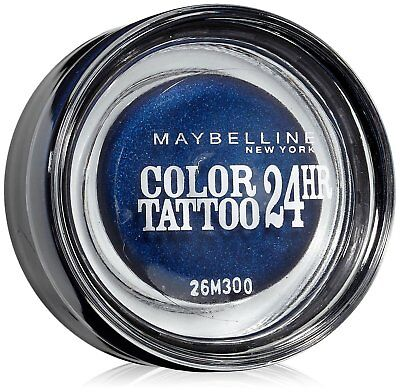Maybelline  Eyestudio Color Tattoo 24hr Gel Cream Eyeshadow Everlasting Navy 25