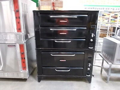 Beautiful Vintage 1952 Blodgett Deck Oven (931 Stacked On A 901)