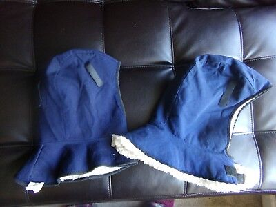 2 American Allsafe Co Winter Liner Style 400 Flame Retardant Fleece Hats