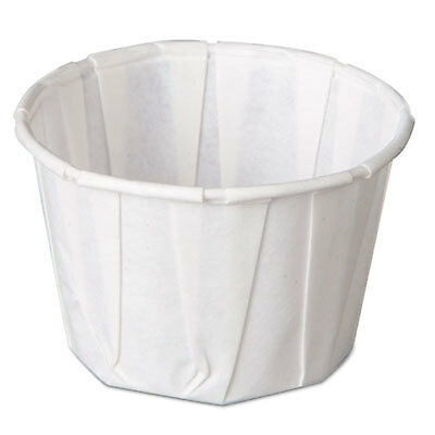 Paper Portion Cups, 2 oz., White, 250/Bag F200