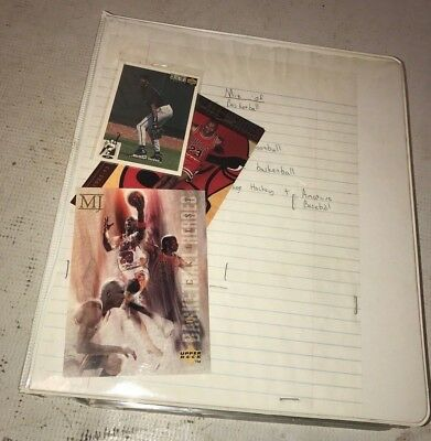 Large Binder of various sports cards - Basketball Cards - football cards