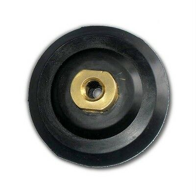 """KENT 4"""" Back Up Rubber Holder Pad for Diamond Polishing Pads with M14 Adaptor"""