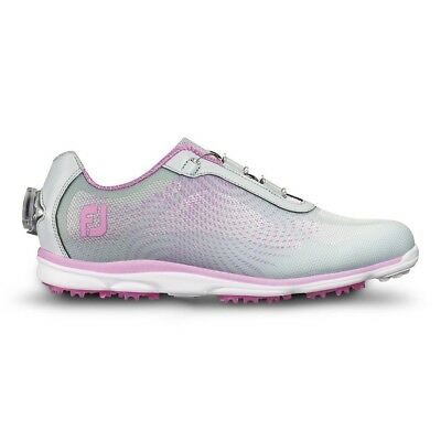 FootJoy emPower BOA Spikeless Women's Golf Shoes 98015 - Silver/Lilac