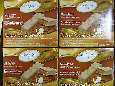Ideal Protein Toffee And Pretzel Meal Replacement Bars ( 4 Boxes Of 6)