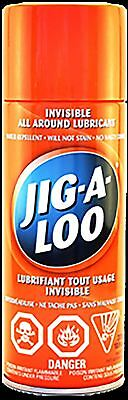 Jig-A-Loo Spray 311gr (10.9oz )- Canada's Best Lubricant