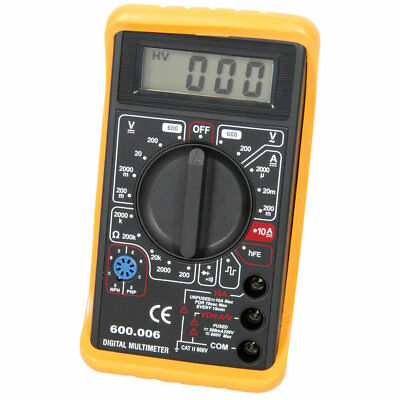 600.006 digital Multitester 19 ranges and Audible Continuity Test