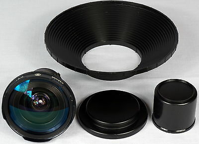 KMZ 6mm f1.8 lens 16OKC1-6-1 in Kinor-16 mount
