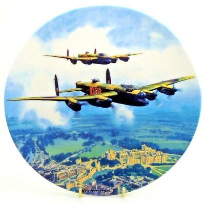 Heroes Over Home Territory ~ Lancaster over Windsor Castle ~ Royal Doulton