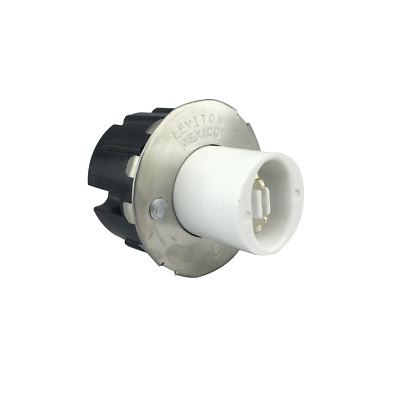 Leviton 523 LH0153 Unshunted Snap-In HO/VHO Lampholder 12083