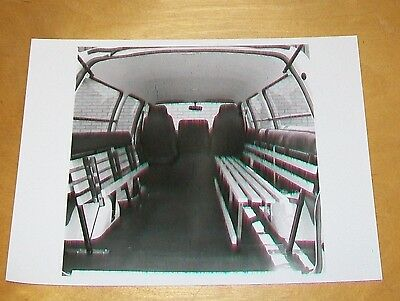 Bedford Midivan Walkers Folding Seat Press Photograph