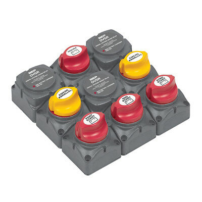 BEP Battery Distribution Cluster f/Triple Outboard Engine w/Four Banks