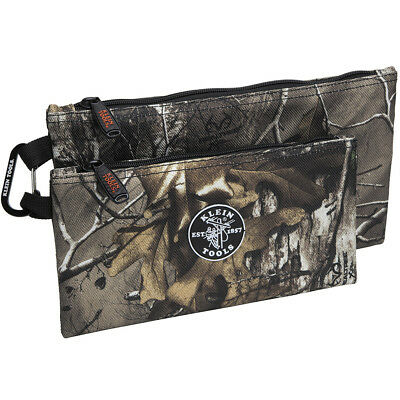 Klein Tools 55560 Zipper Bags - Camo - 2-Pack