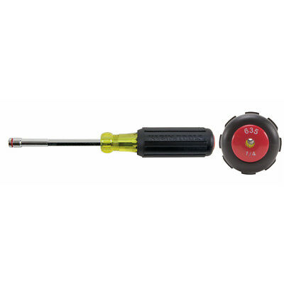 "Klein Tools 635-1/4 1/4"" Heavy-Duty Nut Driver"
