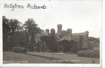 1913 Oldswinford Castle nr   Stourbridge    Worcestershire RP